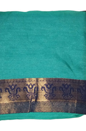 Saree for Women Under 1000 Beautiful With Turquoise Color