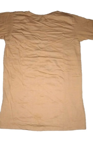 T Shirt for Boys and Men Good Quality Design in Golden Yellow Color